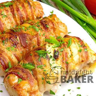 Veggie Cream Cheese Stuffed Chicken