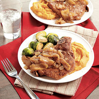 Spiced Apple Pork Chops