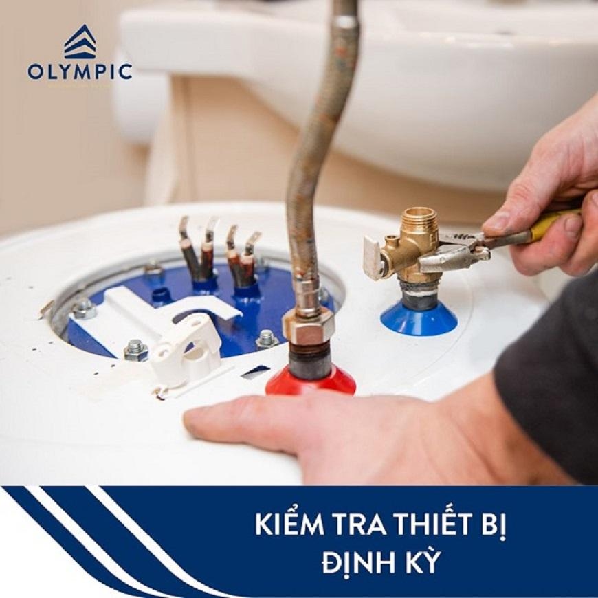 Lên kế hoạch vệ sinh, kiểm tra thiết bị định kỳ