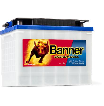 Fritidsbatteri 12V72Ah Banner EnergyBull