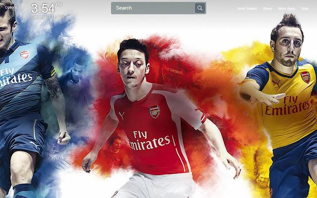 F.C Arsenal Wallpapers Theme New Tab