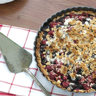 Vegan Berry Almond Tart