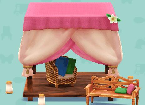 オリエンタルなテント