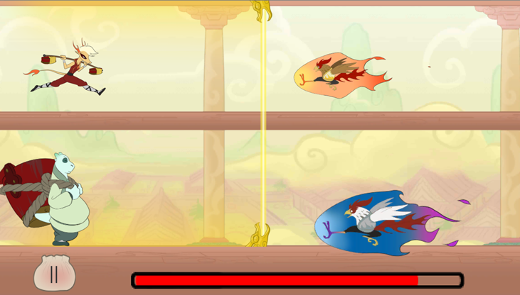 Dragon Roll- screenshot