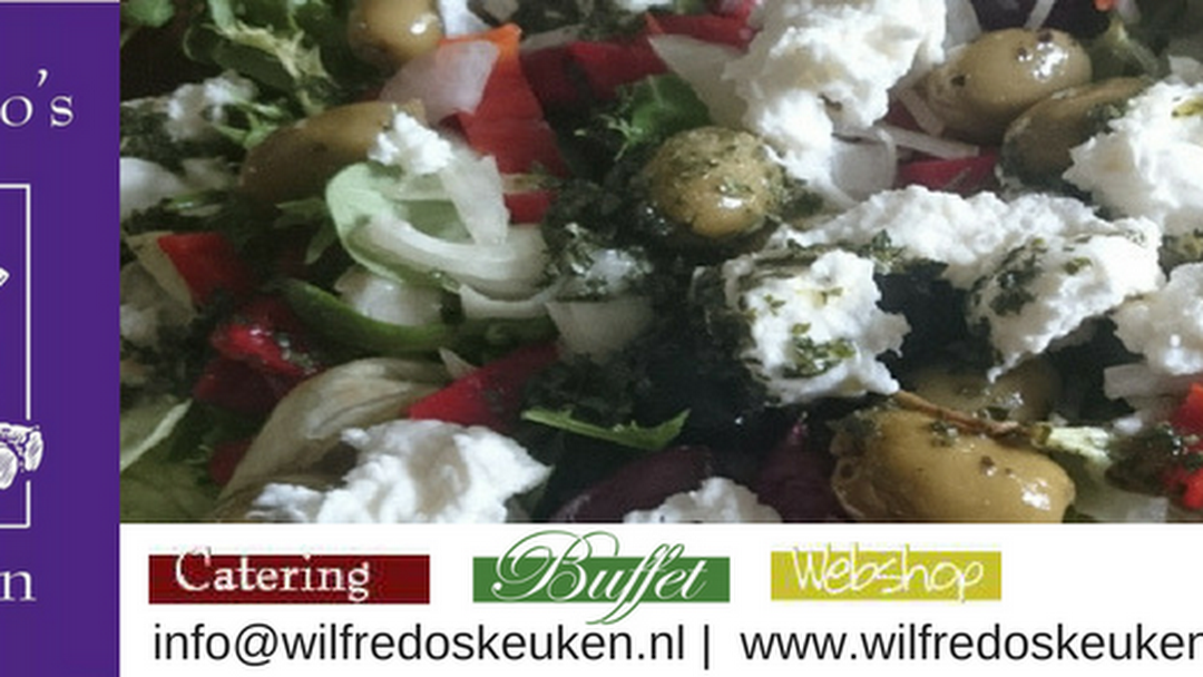 Wilfredos keuken buffetten high tea lunch barbecue omgeving