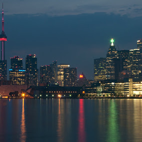 After the sizzle by Dave Reece - Buildings & Architecture Other Exteriors ( skyline, canada, toronto, cityscape )