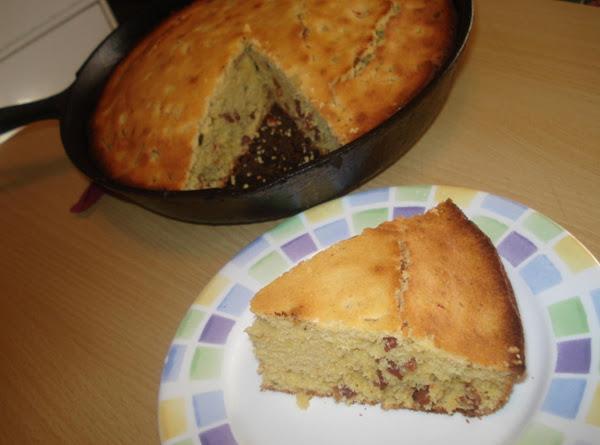 Bacon & Jalapeno Corn Bread, Pan De Maiz Con Tocino Y Jalapeno Recipe