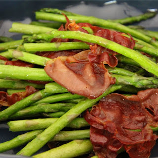 Asparagus and Crispy Pancetta