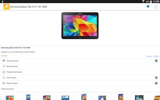 Screenshot of PriceRunner