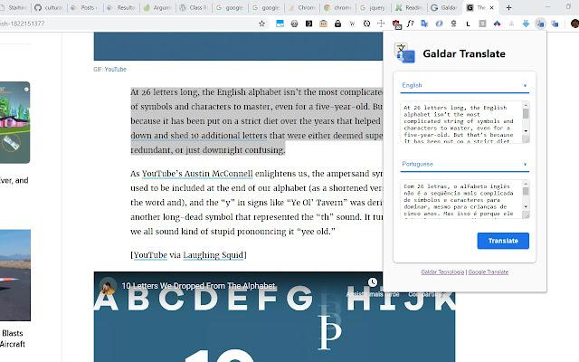 Galdar Translate