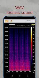 Aspect – Audio Files Spectrogram Analyzer 3.4.3.200781022 Download Mod Apk 1