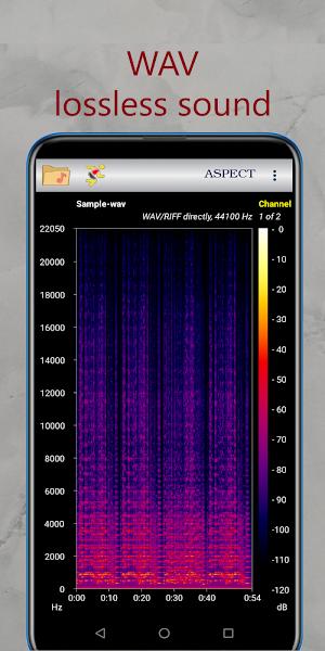 Aspect - Audio Files Spectrogram Analyzer