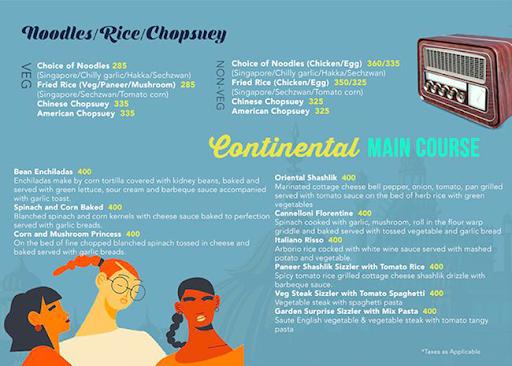 Urban Turban - The Metropolitan Club menu 3
