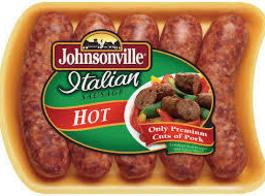 In one bowl mix together Italian sausage, 2 eggs and 1 c Parmesan cheese.