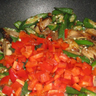 Okrahoma Chinese Chicken Stir Fry