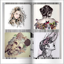 Two Hundred Art Design Drawings