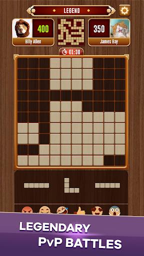 Woody Battle Block Puzzle Dual PvP 3.0.8 screenshots 4