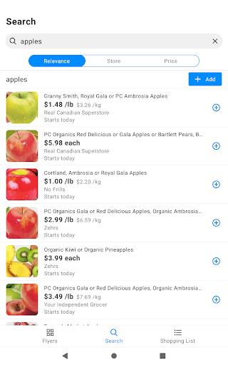 reebee: Flyers, Deals & Shopping List 4.5.8 screenshots 12