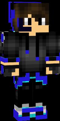Dragon Blue Nova Skin
