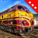 Jigsaw Train & Locomotive Puzzles: Mosaic Games icon