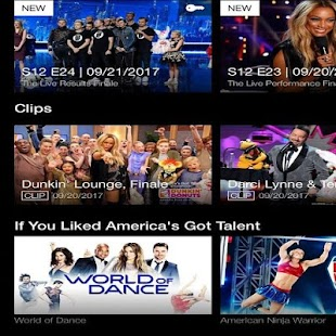 America's Got Talent App - náhled