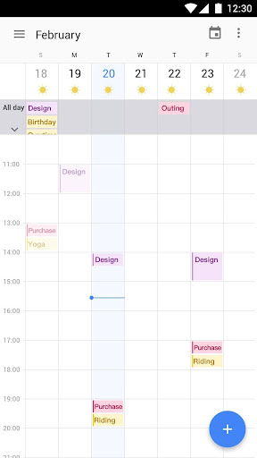 Screenshot for Calendar 2019 : Schedule Reminder, Agenda, To-Do in United States Play Store