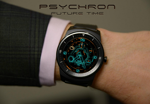 PsychronPro Android wear watch