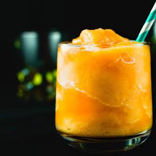 Easy Frozen Peach Margarita.