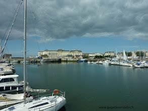 Photo: La Touques et le Casino de Trouville