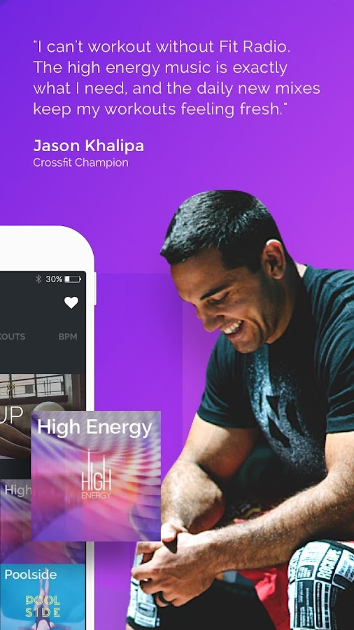 FitRadio Workout Music & Coach- screenshot