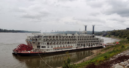 Photo: American Queen Riverboat - a Paddle Wheeler Cruise between Natchez MS, St Louis MO, and New Orleans LA. . .