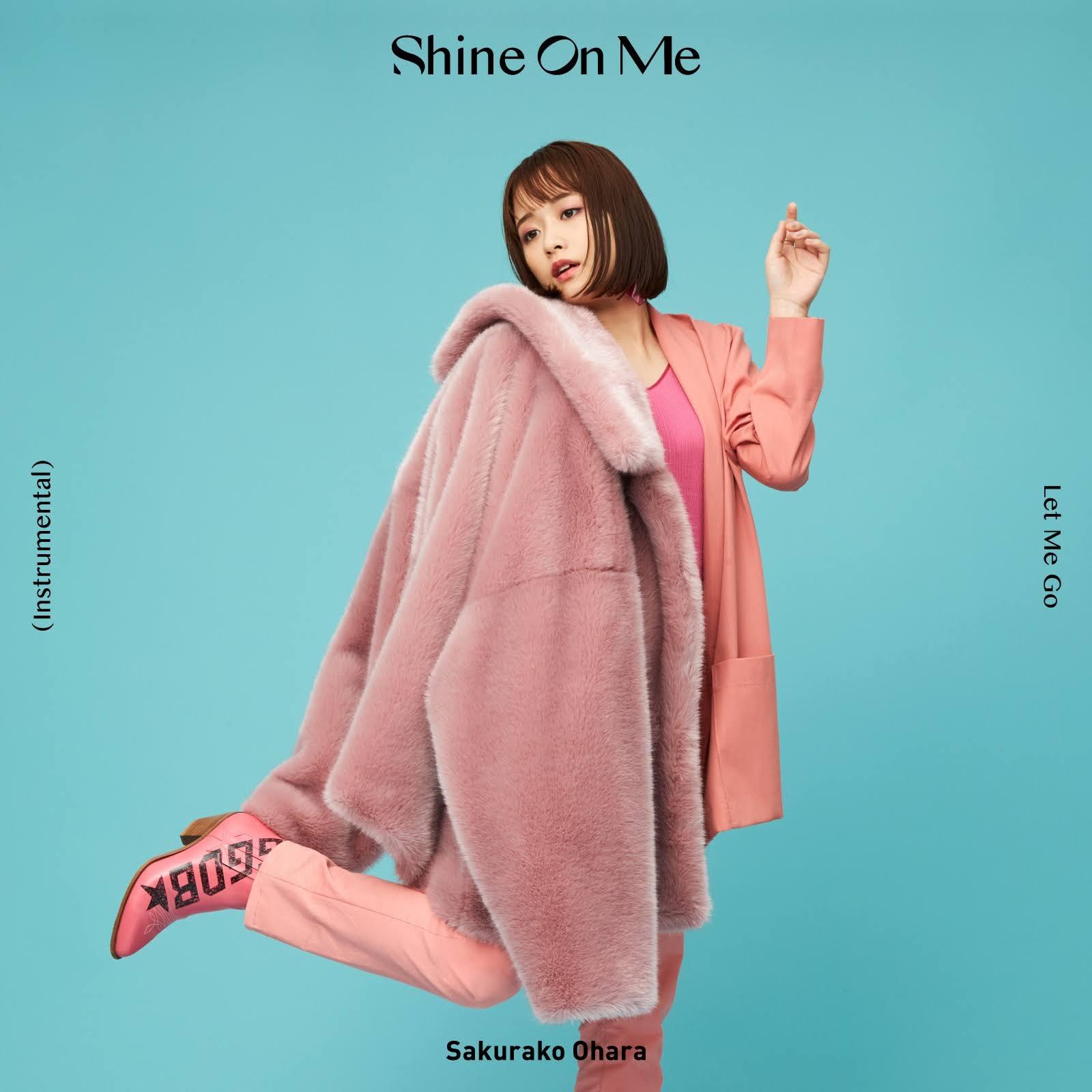"""Capa do single """"Shine On Me"""" – Regular Edition."""
