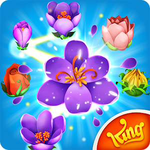 Match & link puzzle game! Connect 3 or more buds to grow and clear flowerbeds! APK Icon