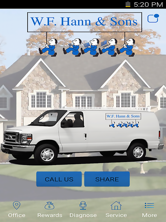 WF Hann & Sons HVAC & Plumbing- screenshot