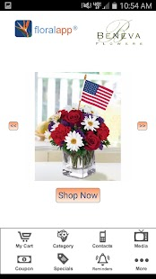 floralapp- screenshot thumbnail