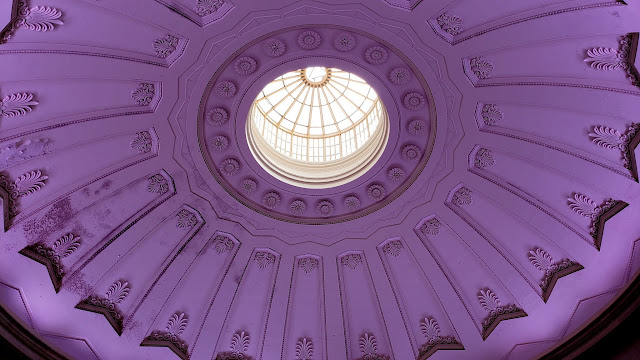The dome inside Federal Hall