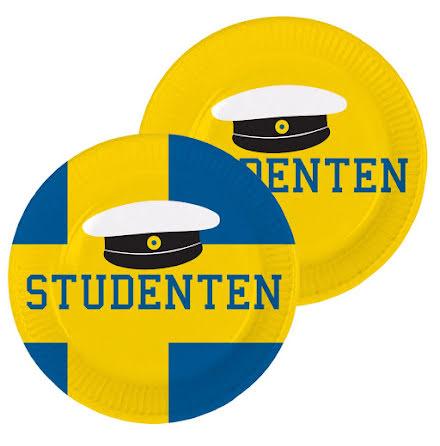 Tallrik, student 8st