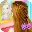 Little Princess Magical Braid updo Hairstyle Salon icon