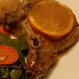 Orange Pork Chops with Tarragon