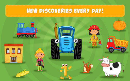 Blue Tractor: Learning Games for Toddlers Age 2, 3 1.0 screenshots 10