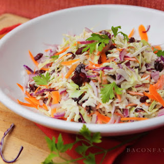 Cole Slaw With Dried Cranberries Recipes