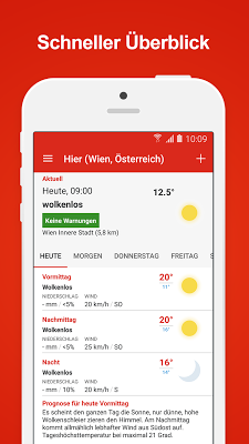 WetterService Plus - screenshot