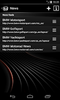Screenshot of BMW Connected