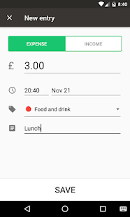 Simple Daily Budget - Easy Personal Finance- screenshot thumbnail