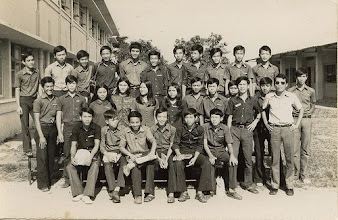 Photo: Hình kỷ yếu lớp 11MS2 (73-74)