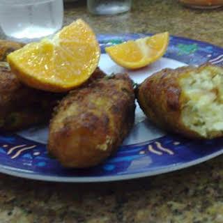 Portuguese Cod Fish Cakes.