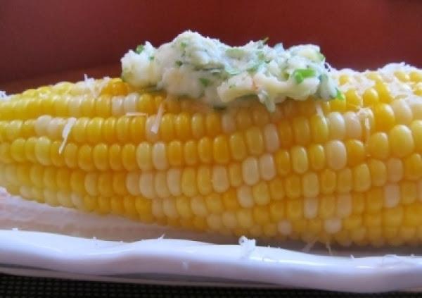 Hot Corn With Chimichurri Butter Recipe