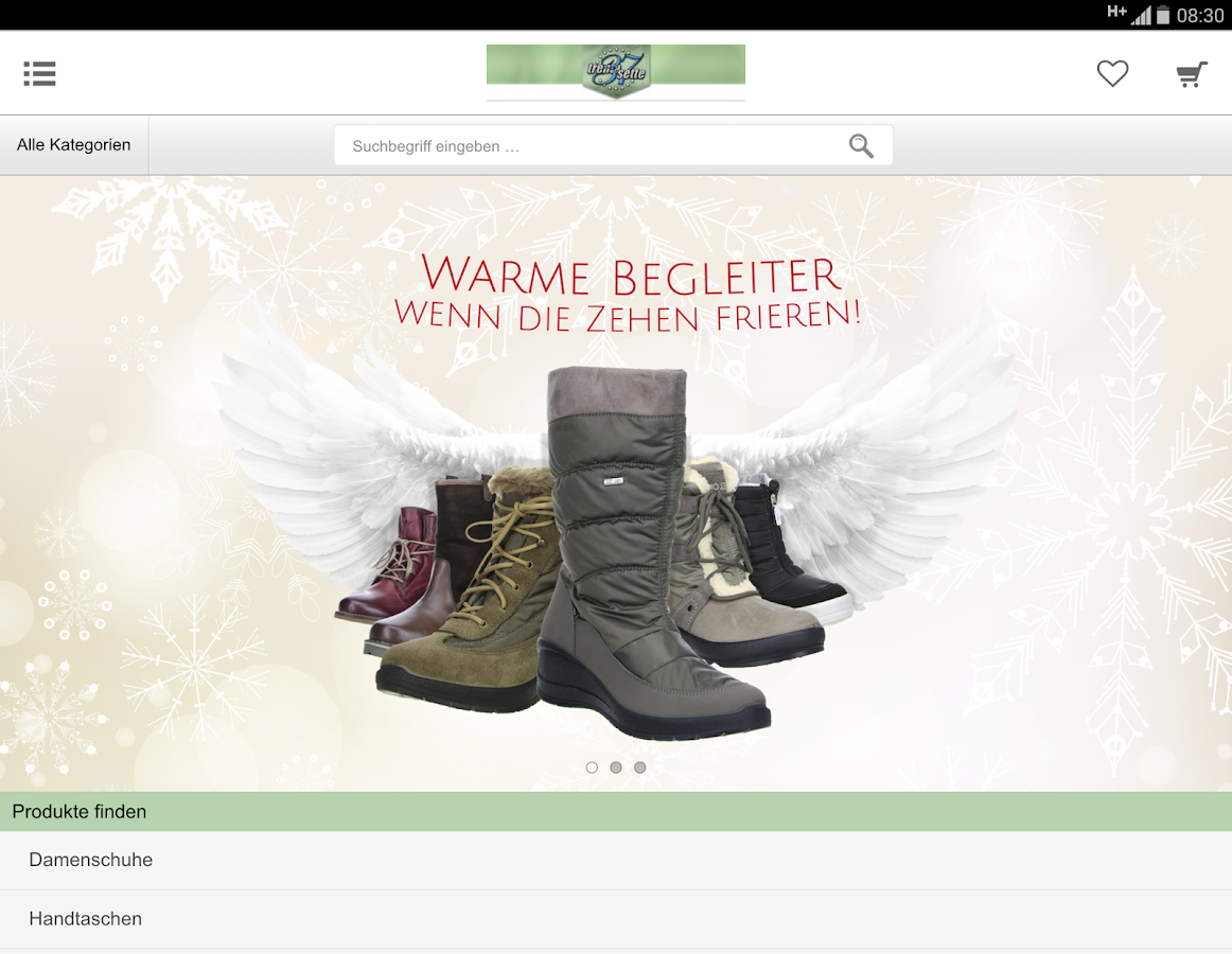 Schuhe-Trentasette- screenshot
