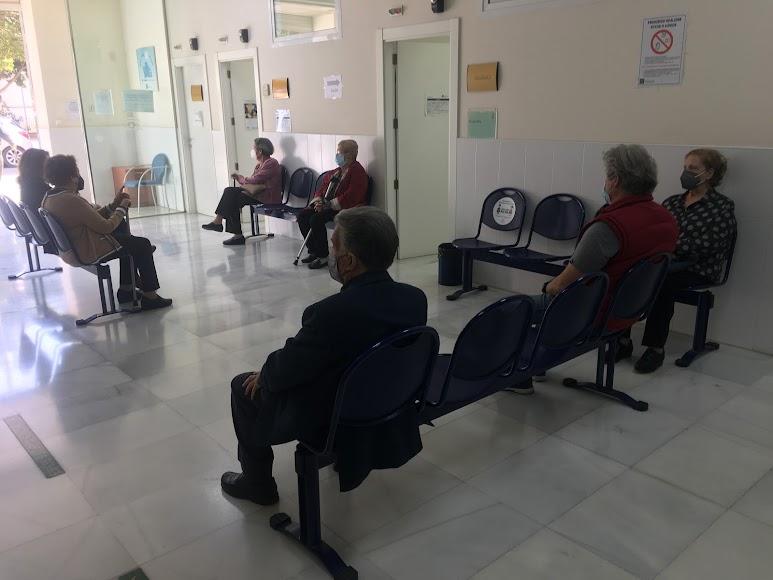 Centro de Salud Alborán en la capital.