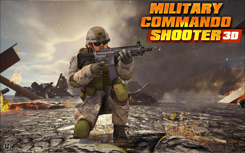 Military Commando Shooter 3D Screenshot 3